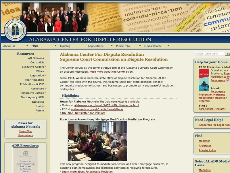 Alabama Center for Dispute Resolution