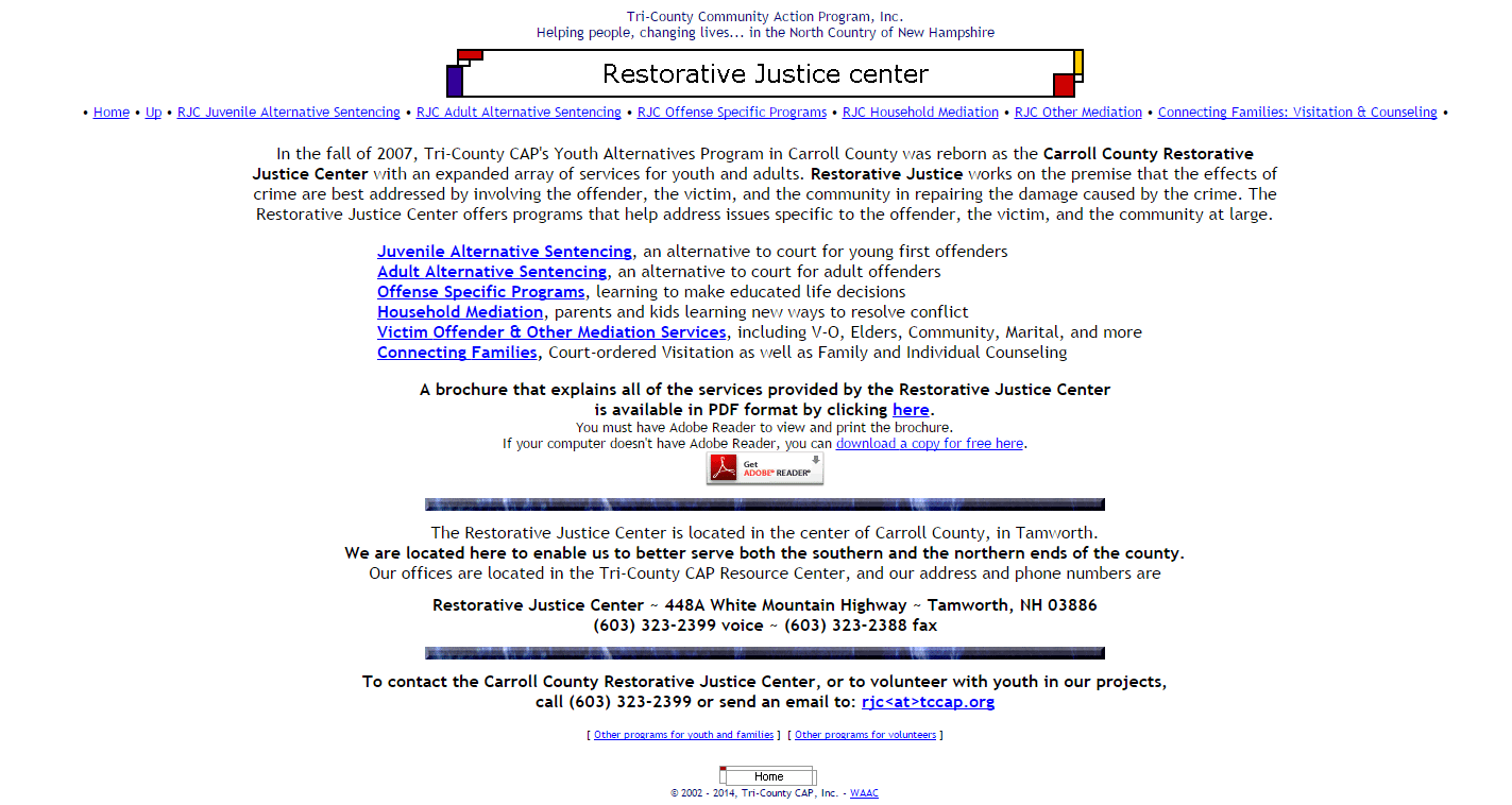 Carroll County Restorative Justice Center