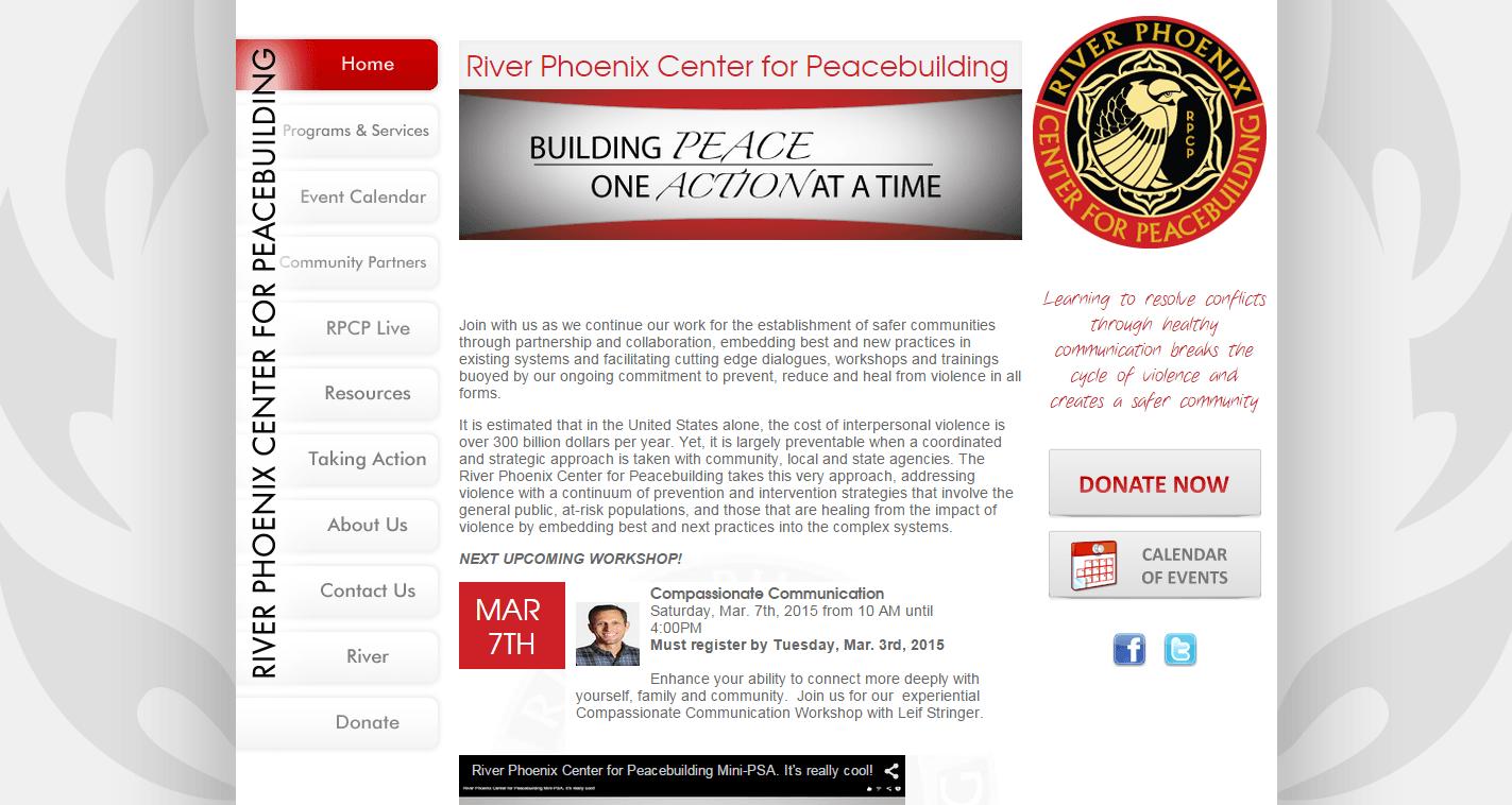 River Phoenix Center for Peacebuilding